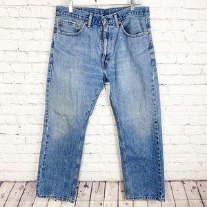 Men's Levi's 505 Jeans Straight Leg 34x29